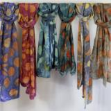 Scarves - botanical prints